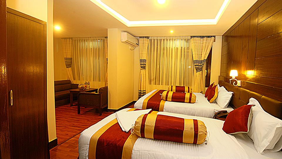 Family Suite Rooms (2 Adults + 2 Children)